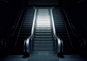 スキルを上げて階段を上がる